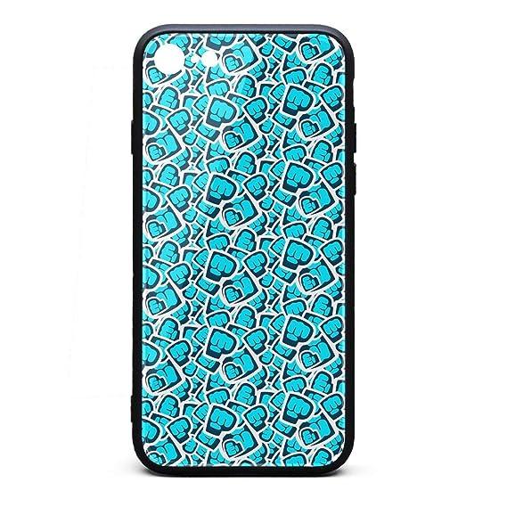 Amazon Com Iphone 7 Iphone 8 Case Blue Pewdiepie Brofist