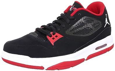 online store 614e1 3bcd0 Nike Jordan Flight 23 RST Low Black Gym Red Bred Mens Basketball Shoe  525512-001