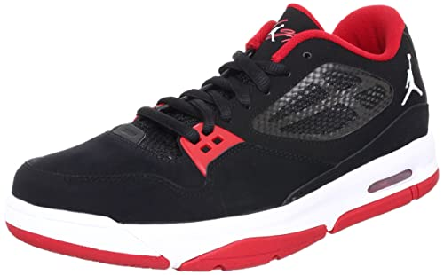 02b5cb985a36f1 Nike Jordan Flight 23 RST Low Black Gym Red Bred Mens Basketball Shoe  525512-001  US Size 9.5   Buy Online at Low Prices in India - Amazon.in