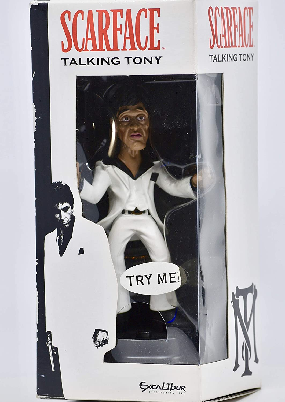 激安店舗 Scarface : Talking Tony Statue - Excalibur 2 Excalibur Electronics - Inc - Model #SF21 - 6 Inches w/ Base - 2 AAA Batteries Included - B00C16Z2A4, カスガシ:8fc7da0c --- arianechie.dominiotemporario.com