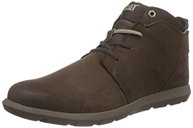 Cat Footwear Men's Transcend Cold Lined Desert Boots Short Length Brown Size:  7