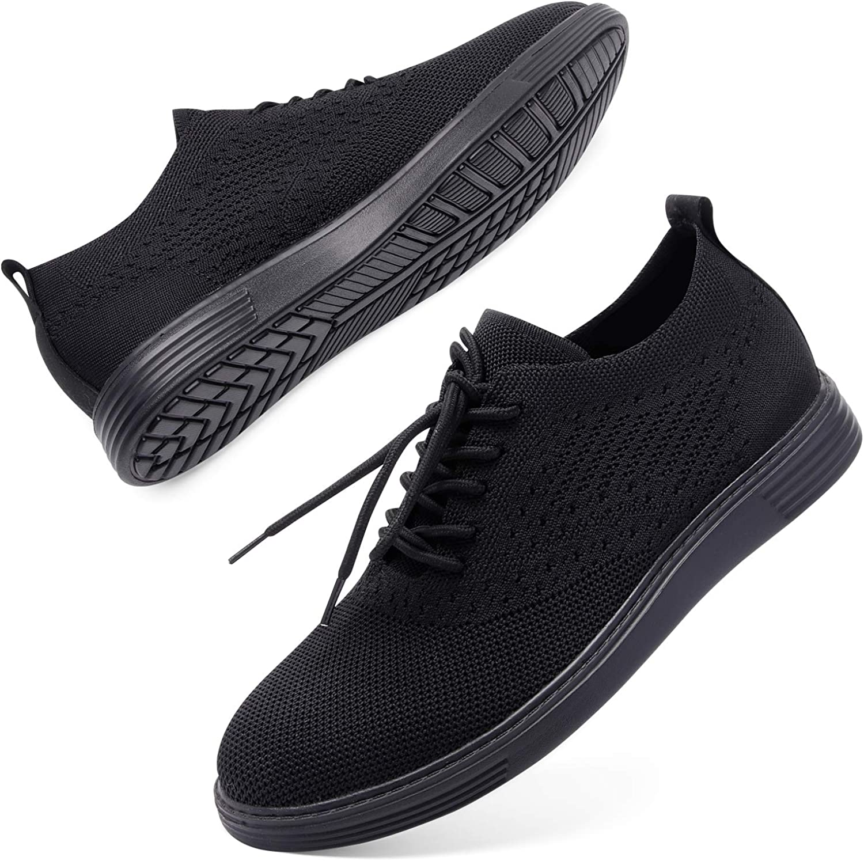 L-RUN Mens Mesh Sneakers Lightweight