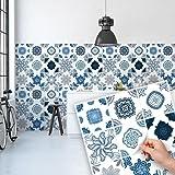 Autocollant d coration carrelage pour cuisine portugais - Stickers pour carrelage mural cuisine ...