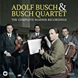 Busch Quartet: The Complete Warner Recordings (Coffret 16 CD)