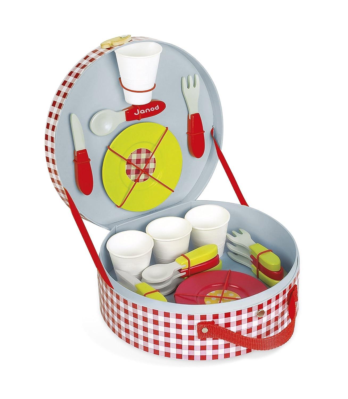 Janod - Maletita para picnic de juguete (J06524) B004MMFBS8