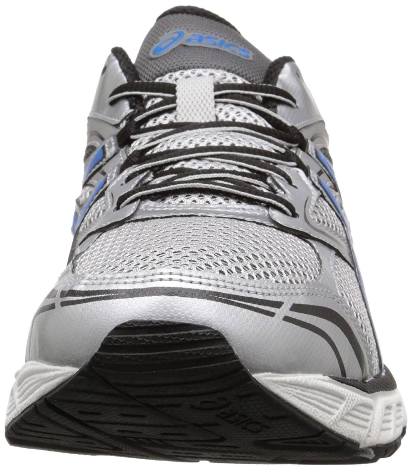 Asics Gel-Equation 8 Fibra sintética Zapatillas, Lightning / Electric Blue / Black, 40.5