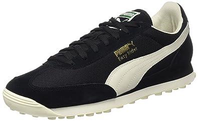 Puma Unisex-Erwachsene Easy Rider Classic Sneaker, Rot (Red Dahlia-Whisper White-Gold), 38 EU