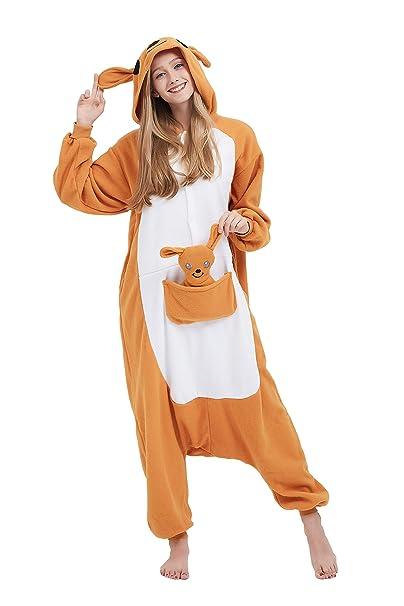 Fandecie Animal Costume Animal Traje Pijamas Pijamas Jumpsuit Mujer Hombre  Cosplay Adulto para Carnaval Animal Halloween  Amazon.es  Ropa y accesorios d9e2a779f25