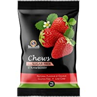 The Sugarless Company A Strawberry Flavor Chews, 70 g