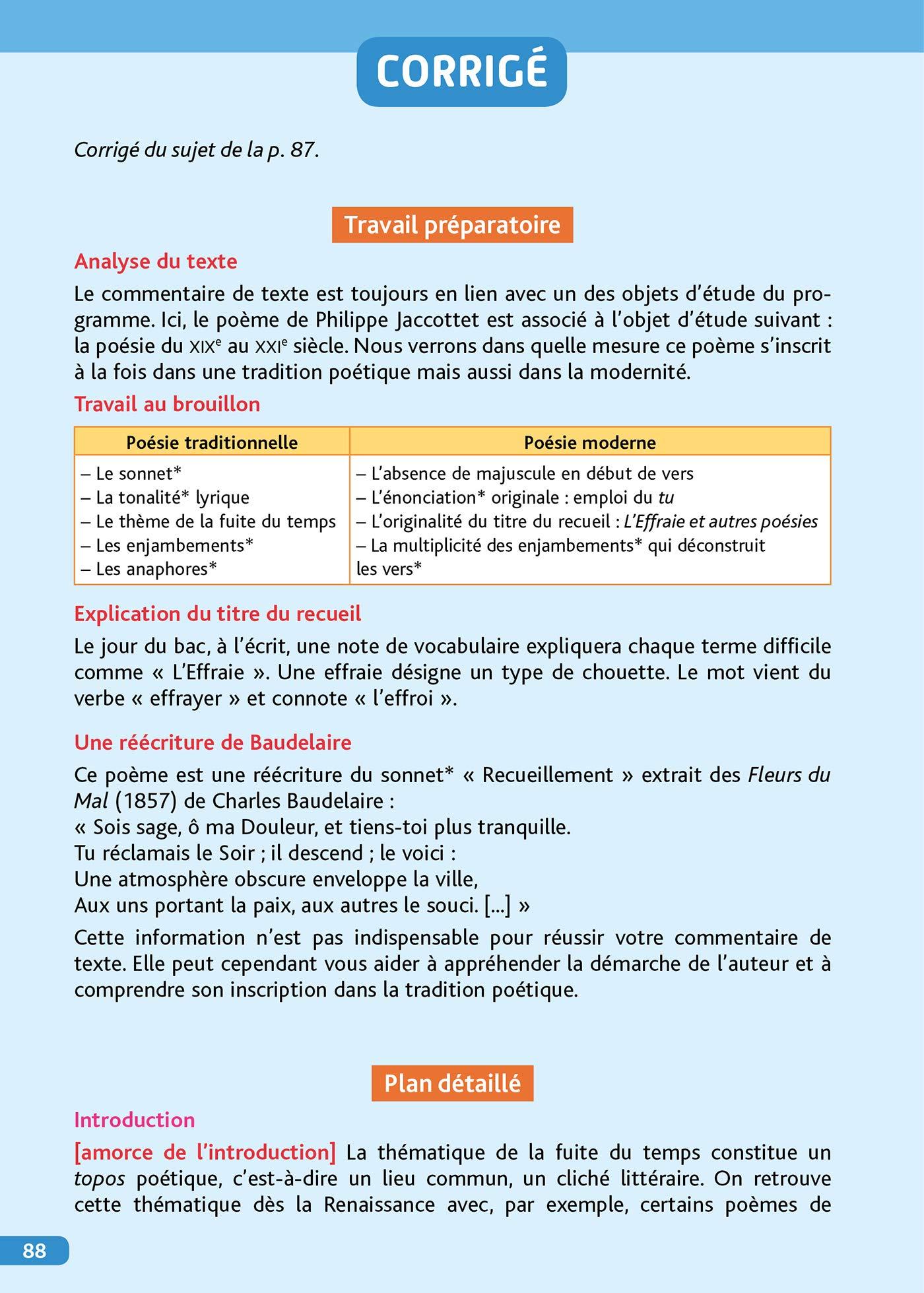 Objectif Bac Français écrit Et Oral 1re Bac 2020 Objectif