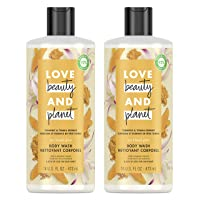 Love Beauty And Planet Body Wash Turmeric & Tonka Essence 16 oz 2 Count