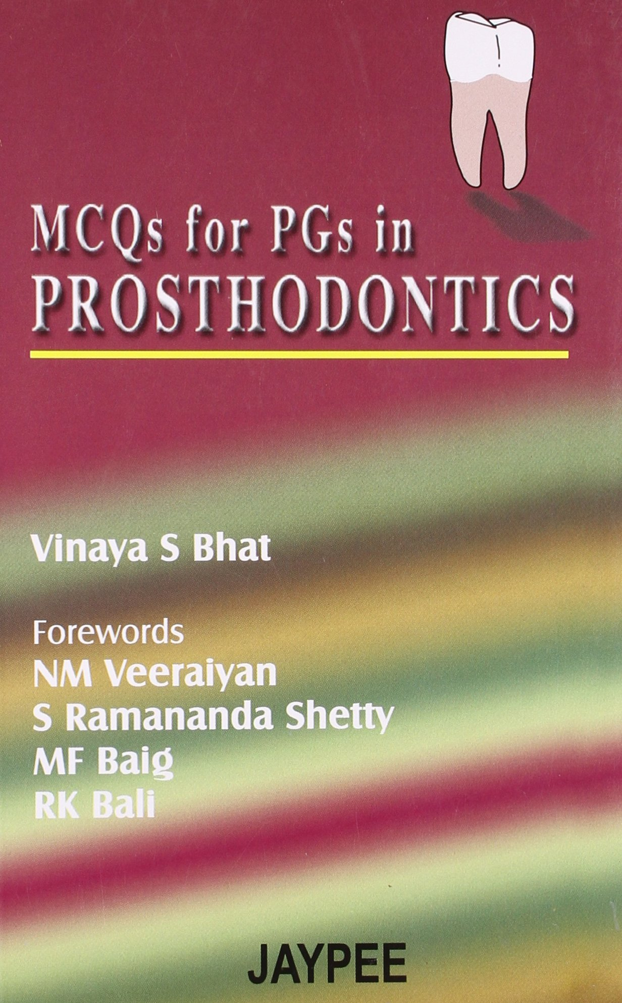 Buy Mcqs For Pgs In Prosthodontics Book Online at Low Prices in ...