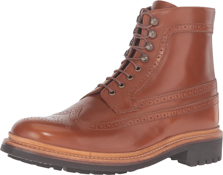Grenson Men's Sebastian Brogue Boot