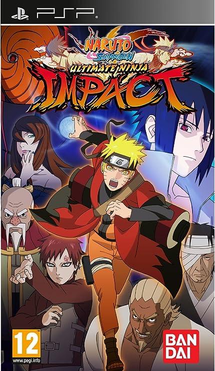 Amazon.com: Naruto Shippuden: Ultimate Ninja Impact (PSP ...