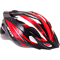 Upten Unisex Adult BH17 Cycling Helmet - Red, Medium/Large