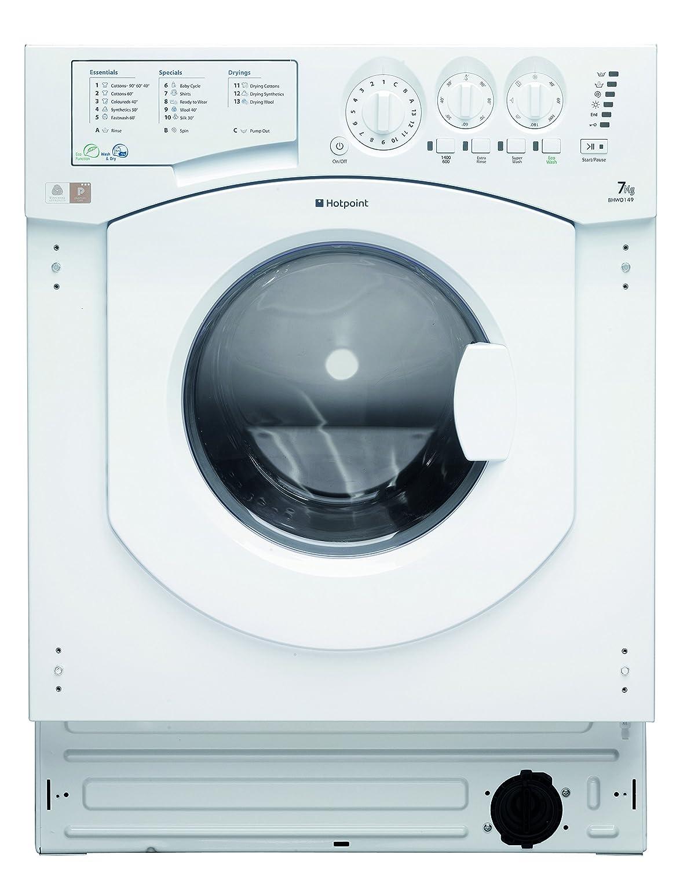 Hotpoint BHWD149/1 Integrado Carga frontal B Blanco lavadora ...