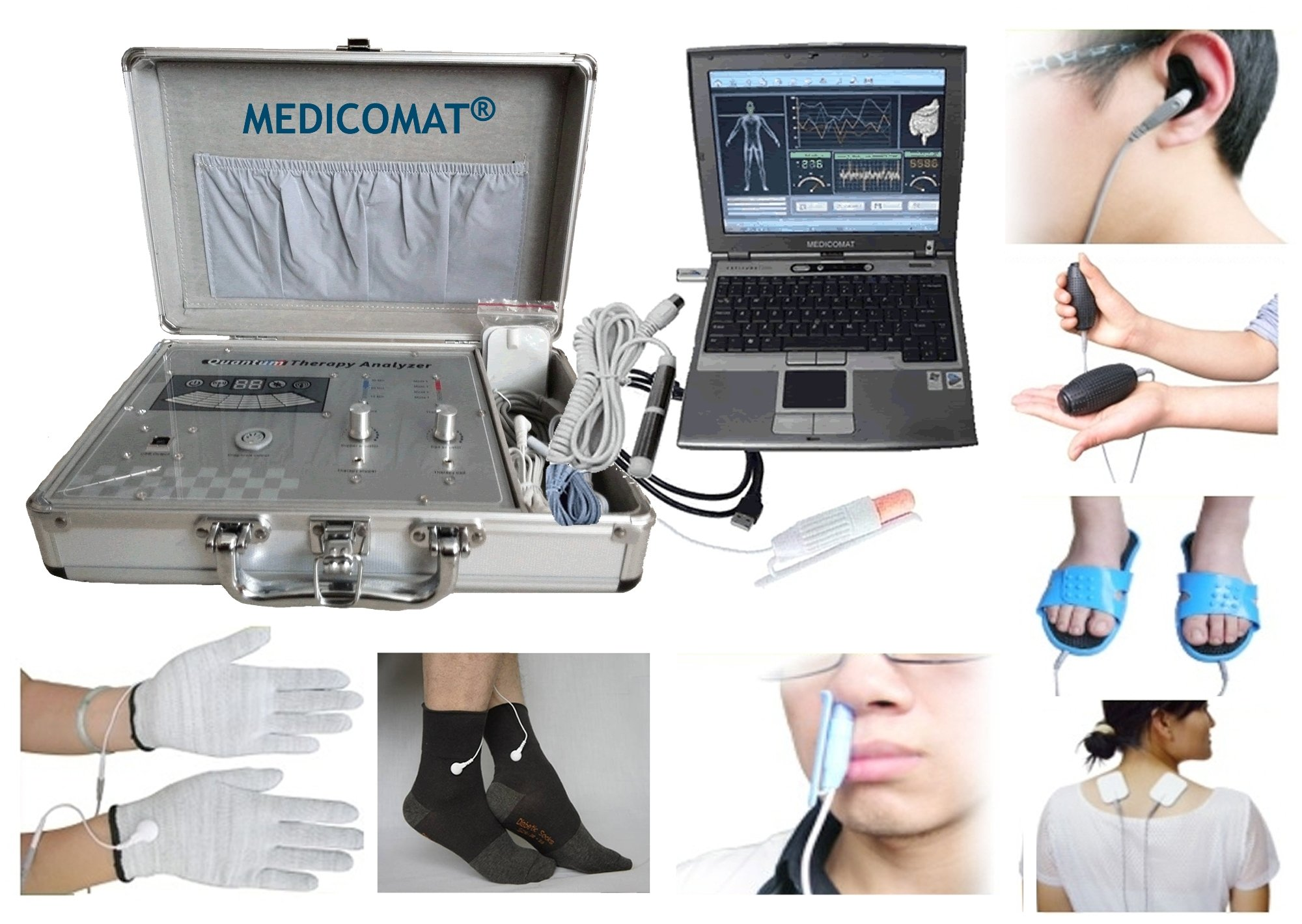 Laser Acupuncture Health Care Management Medicomat Computer Accessories by Medicomat