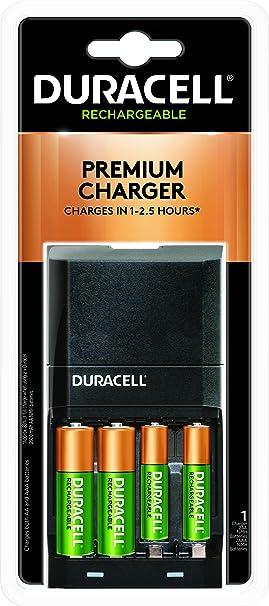 Amazon.com: Duracell - Cargador de batería Ion Speed 4000 ...