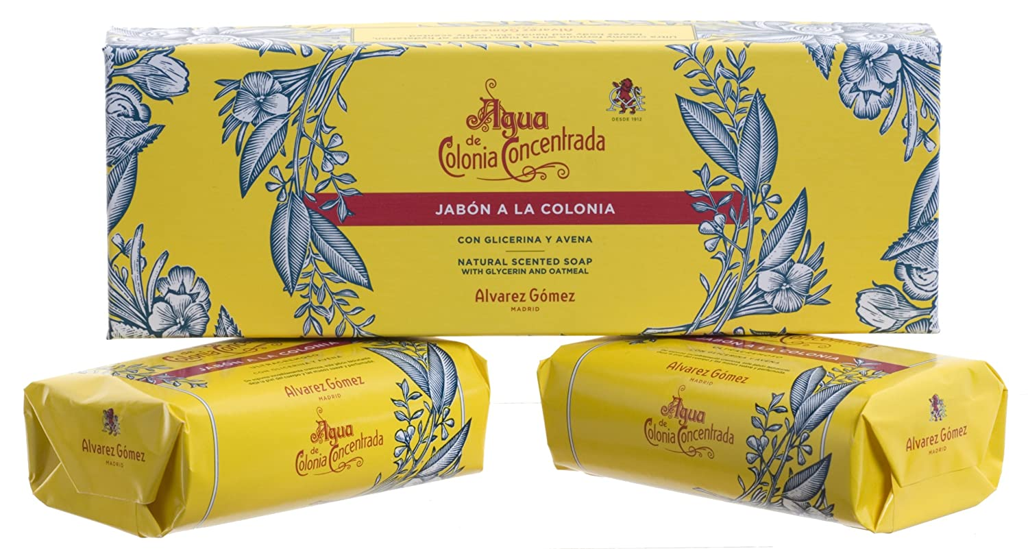 Amazon.com : Agua De Colonia by Alvarez Gomez Soap Gift Box 2 x Soap Bar 125g : Facial Soaps : Beauty