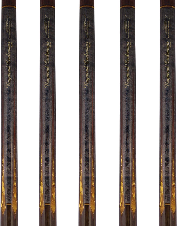 Raymond ceulemans HQ Serie Carom Cue con madera de arce. Profesional 3 cojín Carom billar taco de billar palos 470 – 530 G para torneo de billar en todo el mundo Campeonato,