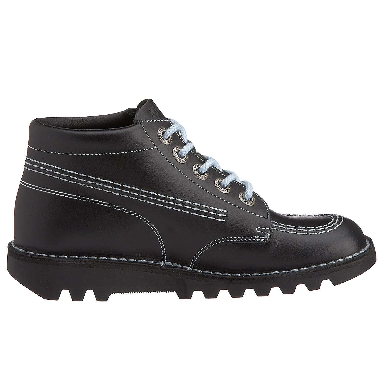 Kickers Boys Kick Hi Youth Core Black & Sky Boot Black/Sky KF0000579_BVI_36  3 UK: Amazon.co.uk: Shoes & Bags