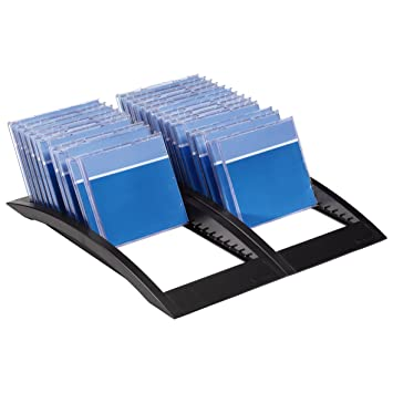 Cd Rek Accessoires.Hama Flipper Spirit Ii 40 Cd Rack Amazon Co Uk Computers Accessories