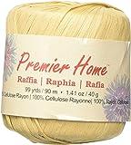 Premier Yarns Raffia Solids Yarn, Almond