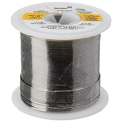 "KESTER SOLDER 24-6040-0027 Wire Solder, 0.031""Dia., Pack of (1): Industrial & Scientific"