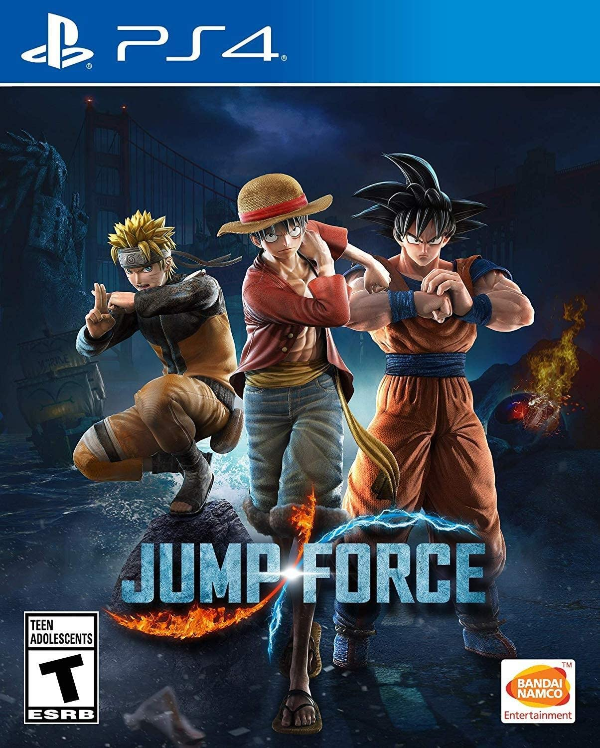 Amazon com: Jump Force: Standard Edition - PlayStation 4