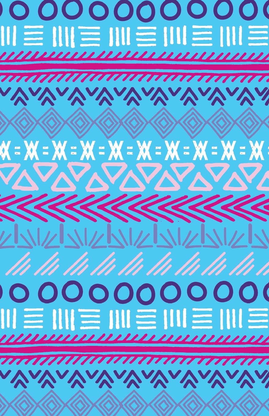 Download Bullet Journal Tribal Art Pattern Blue: Graph Design - 162 Numbered Pages With 150 Graph Style Grid Pages, 6 Index Pages and 2 Key Pages in Easy To ... 8.5 Size (Bullet Journal Graph 2) (Volume 19) pdf epub