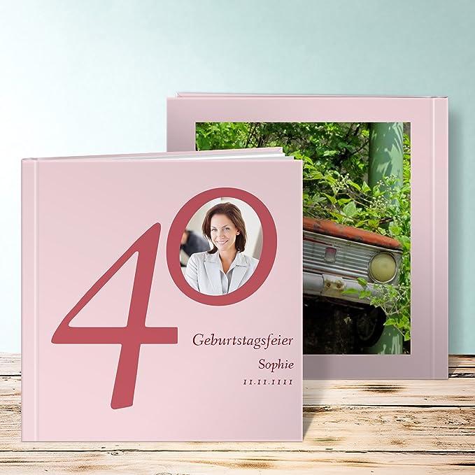 Amazon.de: Fotobuch zum 18 Geburtstag, Meine Vierzig 80