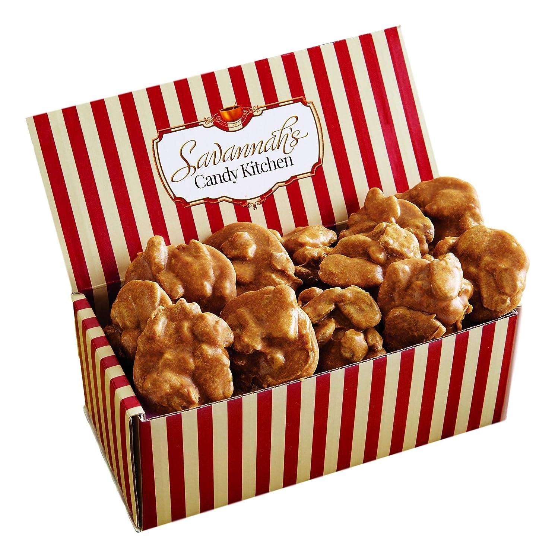 Handmade Small Batch Pecan Praline Candy Gift Box | Savannah's Candy Kitchen | 12 Pralines