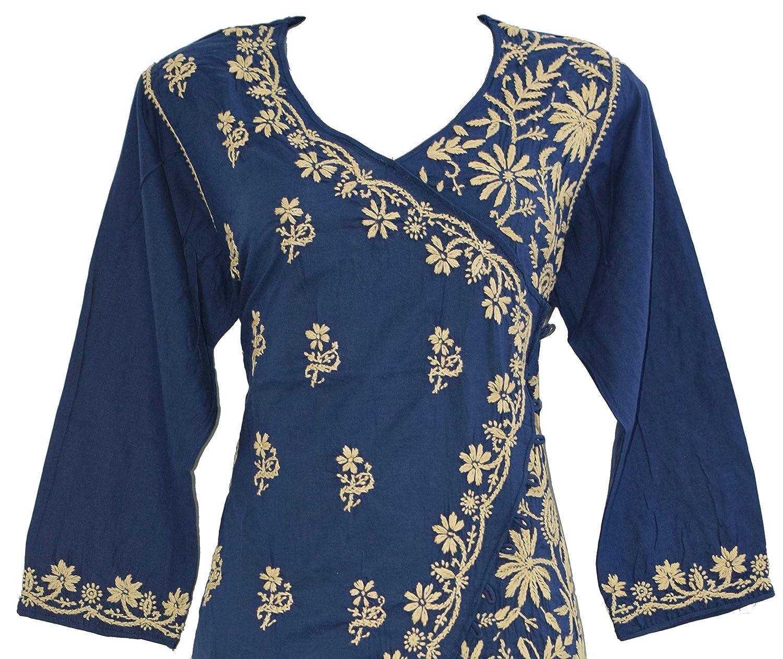 Women's Cotton Angarkha Kurti
