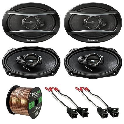 Amazon 2 X Pioneer Tsa6966r 6x9 420w 3way Car Speaker. 2 X Pioneer Tsa6966r 6quotx9quot 420w 3way Car Speaker. Wiring. Car Stereo Wire Harness Gauge At Scoala.co