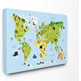 The Stupell Home Decor Collection Slow and Steady Wins Turtle Stretched Canvas Wall Art Multicolor