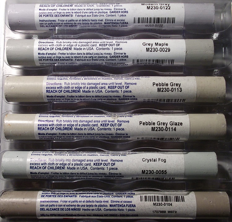 Fil Stik Putty Sticks 12 Colors Kit Light Gray M230 Box Of 12  # Le Font Muebles