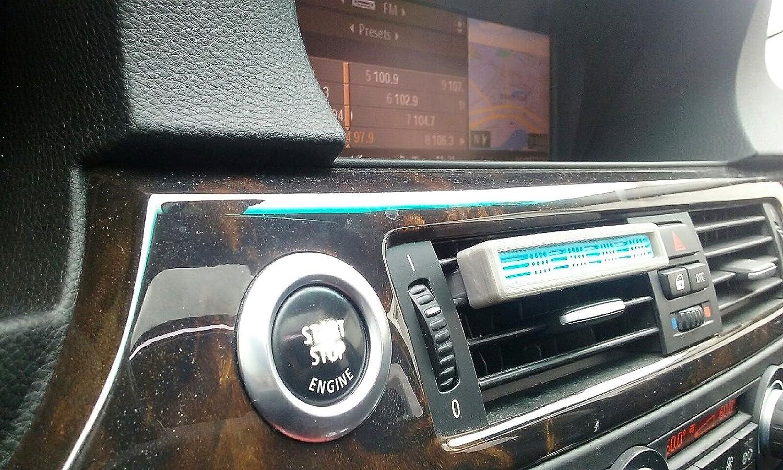 BMW 4 Genuine Air Freshener Natural Air Sticks Harmonizing Flowers Vitalizing Words Balancing Amber Energizing Tonic with Vent Holder