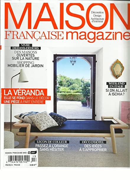 Amazon.com: MAISON FRANCISE MAGAZINE JUNE, 2015 (DECORATION DESIGN ...