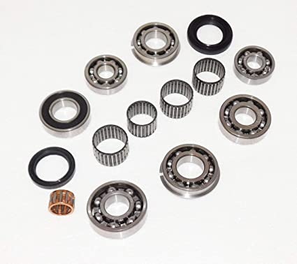 amazon com: suzuki sj413 sj410 transmission gearcase gearbox bearing rebuild  overhaul kit ball & needle bearing oil seal  samuria sierra jimny drover: