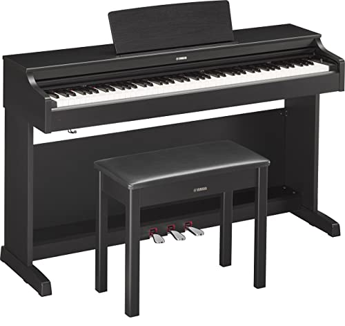 Yamaha YDP163B Arius Series Console Digital Piano with Bench, Black Walnut