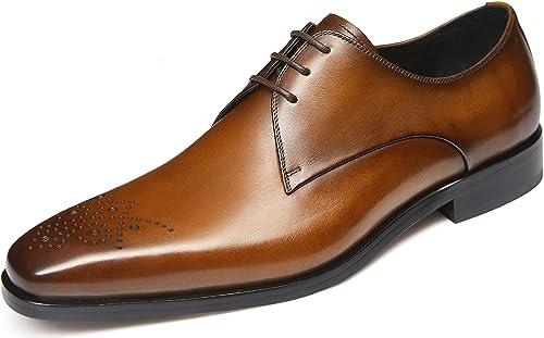 Amazon.com: Zapatos de vestir para hombre, zapatos Oxford ...