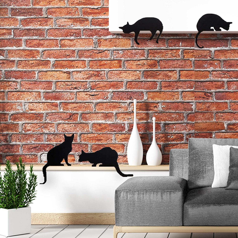 Chat en m/étal Artori Design Figurine d/écorative Cats Churchill Cadeau pour Les Amoureux de Chat