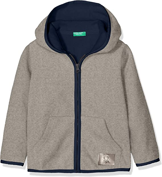 United Colors of Benetton Jacket W//Hood L//S Giacca Bambina