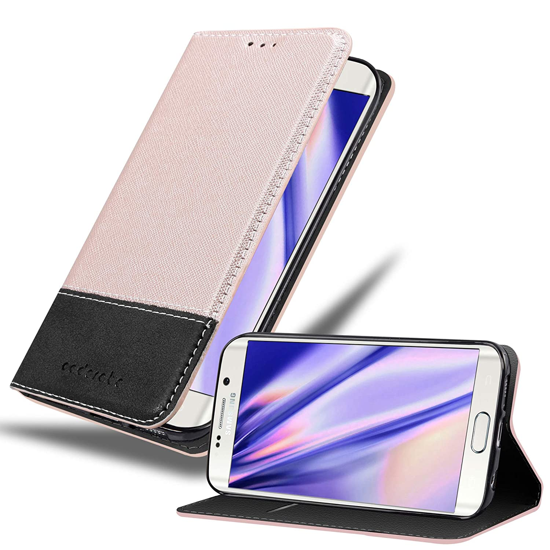 Mulbess Bookstyle Funda para Samsung Galaxy S7 Edge Funda Cuero para Samsung Galaxy S7 Edge Funda con Tapa Marr/ón Funda M/óvil Samsung Galaxy S7 Edge Funda Cartera Samsung Galaxy S7 Edge