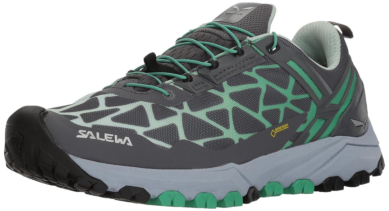 Salewa Trekking-& Damen Ws Multi Track GTX Trekking-& Salewa Wanderhalbschuhe Grau (Charcoal / Ming Grün) ac68e9