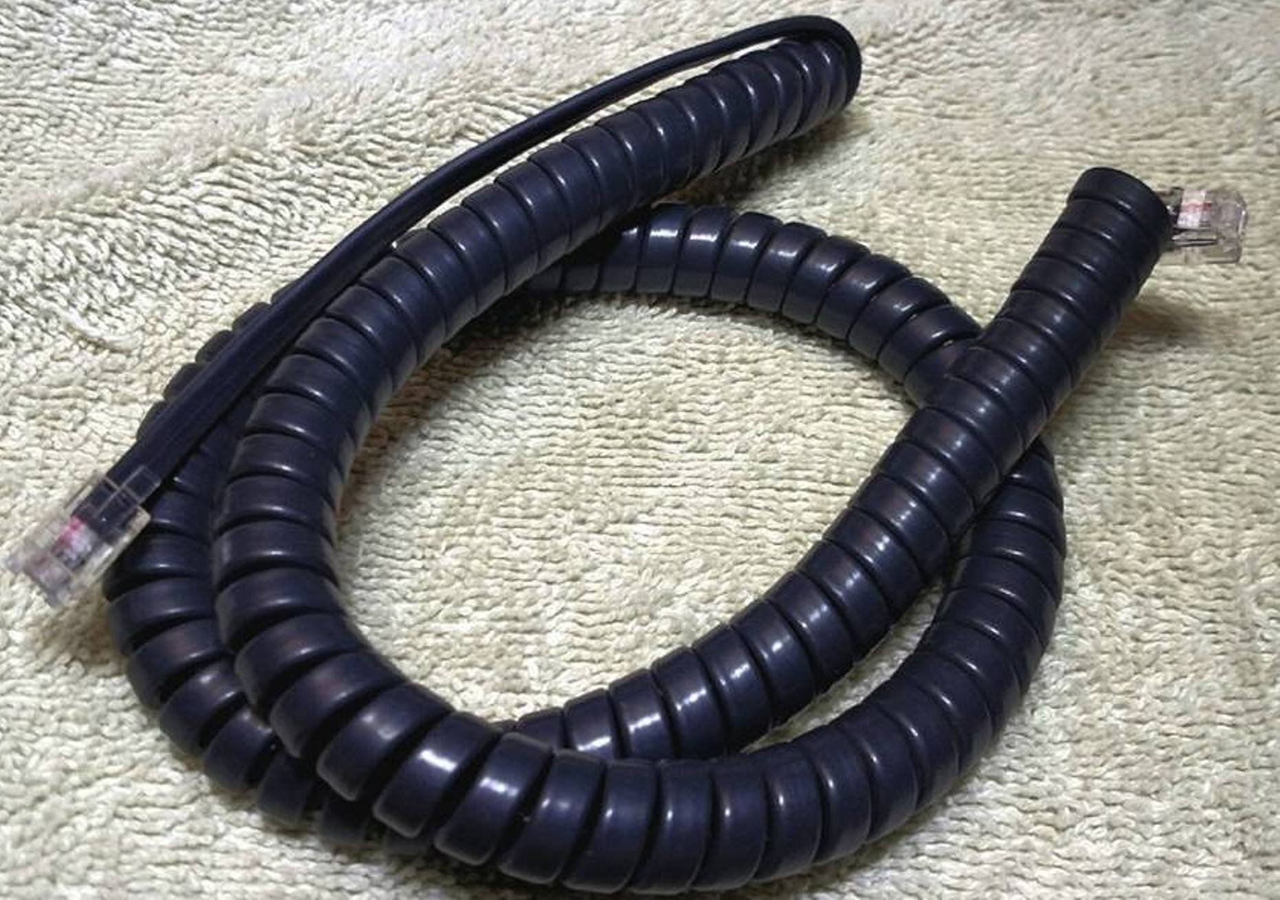 Lot of 10 Gray 12' Ft Handset Cords for Cisco IP Phone 7800 7900 8800 Series with 5'' Tail/Leader Charcoal 7940 7941 7942 7945 7960 7961 7962 7965 8811 8841 8845 8851 8861 (10 Pack) by DIY-BizPhones