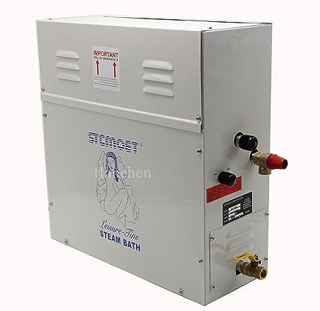 12kw Steam Generator Shower Sauna Bath Home Spa Steamer Amazon Com