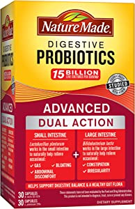 Nature Made Digestive Probiotics Advanced 30 Day Supply Softgel, 30 Count