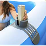 Silicone Anti-Spill Pool Drink Holder - Outdoor Cup Holder for Inflatable Pool, Above Ground Pool, Hot Tub, Jacuzzi - Multifu