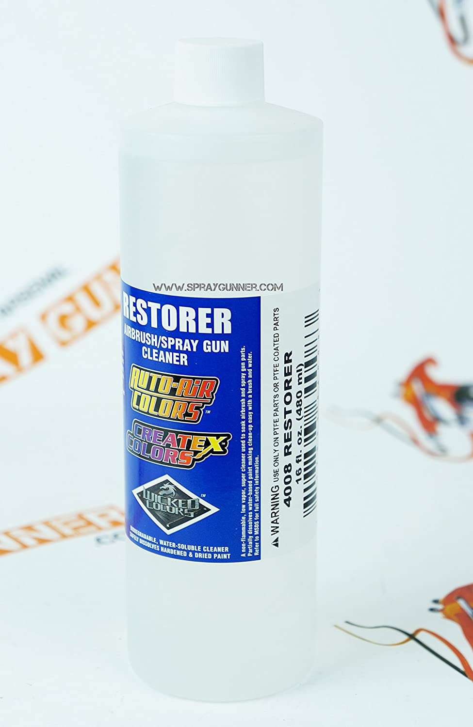 Createx 4008 Airbrush Paint Restorer 16oz 4008 16 By Spraygunner